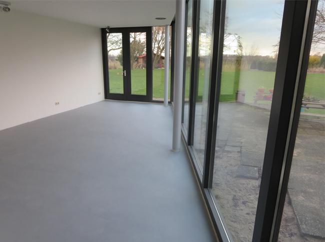 Pvc Vloeren Betonlook : Vloeren fotos berkers vloeren cementdekvloeren gietvloeren en