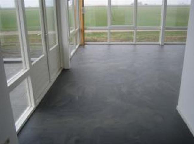 Antraciet Pvc Vloer : Vloeren fotos berkers vloeren cementdekvloeren gietvloeren en